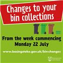 New bin collection dates available